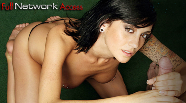 Most popular paid adult website featuring some fine daily updated porn flicks