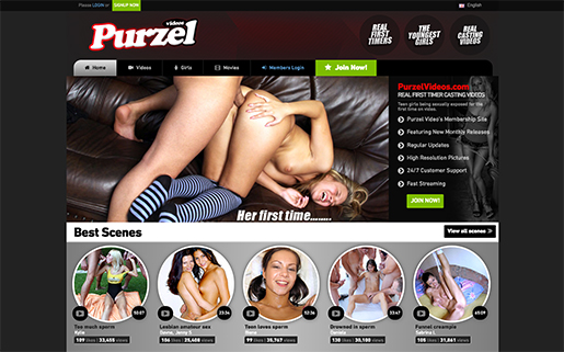 Great membership porn website with fresh amateur German models
