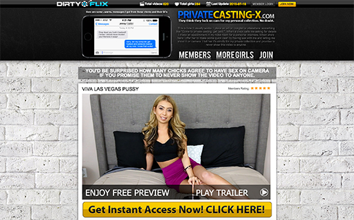 most frequently updated casting xxx sites if you want stunning adult auditions