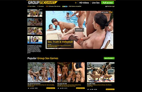 the best orgy adult website to enjoy some hot adult sex games