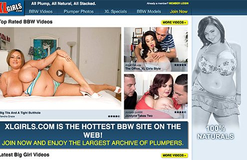 most frequently updated paid adult sites with stunning big butt porn content