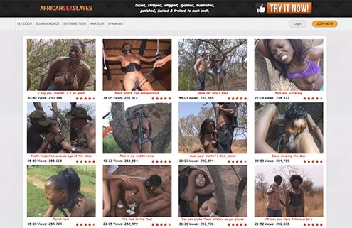among the finest ebony porn sites offering top BDSM hardcore videos