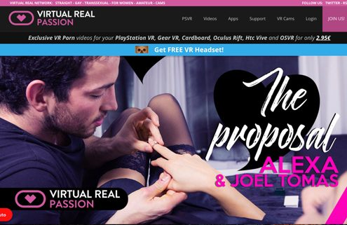 most interesting vr porn website if you're into virtual reality sex videos