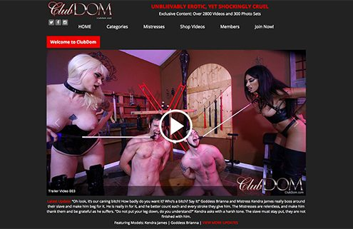 one of the top bdsm adult website to enjoy a huge amount of femdom ad bondage sex vids