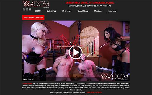 one of the top bdsm adult website to enjoy a huge amount of femdom ad bondage sex vids